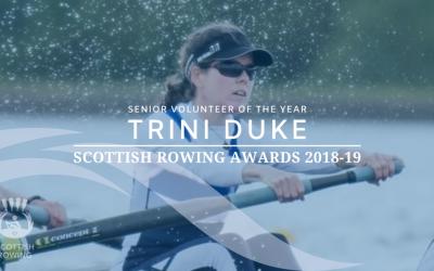 Trini Duke named senior volunteer of the year