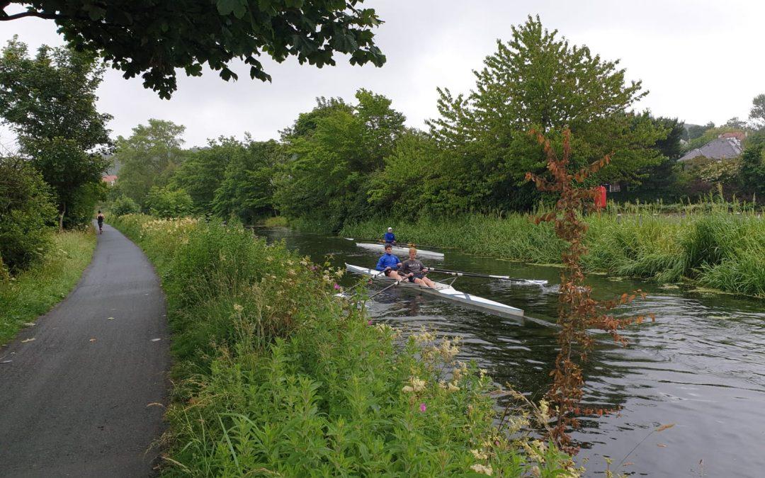 Easing of lockdown means slow return to rowing